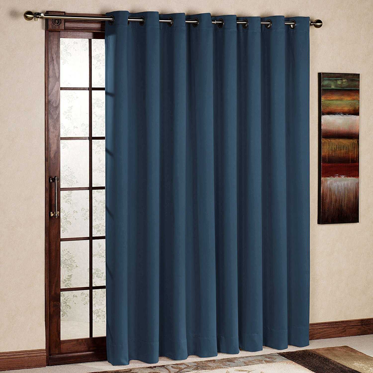 RHF-Wide-Thermal-Blackout-Patio-door-Curtain-Panel-Sliding-door-curtains-Antique-Bronze-Grommet-Top-